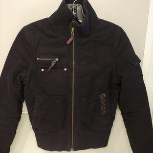 GUC XS Black Bench Bomber Jacket